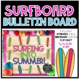 Summer Bulletin Board / Surfboard Bulletin Board