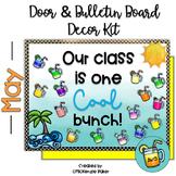 Summer Bulletin Board and Door Decor Kit-Editable