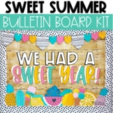 Summer Bulletin Board or Door Decor - Sweet Summer Theme