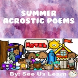 Summer Bundle Acrostic Poems