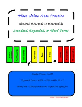 Two Complete Work Stations! Place Value & Fractions Work Station (Full Versions)
