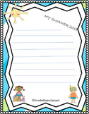 Free Back to School Writing Prompt - Themed Bundle Sampler