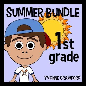 Summer Bundle for 1st Grade Endless