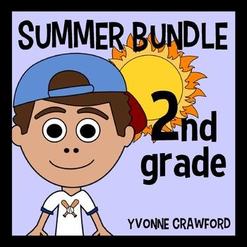 Summer Bundle for 2nd Grade Endless