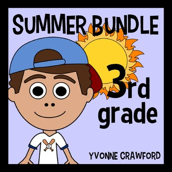 Summer Bundle for 3rd Grade Endless