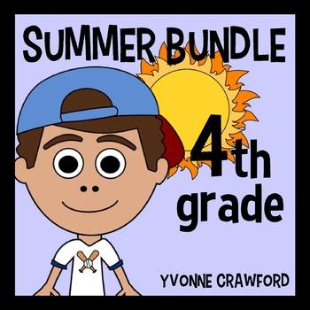 Summer Bundle for 4th Grade Endless