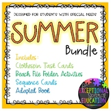 Summer Bundle for Students with Special Needs