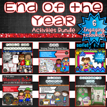 End of the Year Activities MEGA Bundle