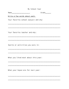 Summer Busy Packet