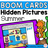 Summer CVC Words | Digital Game Boom Cards Distance Learning