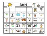Summer Calendar 2017-2018
