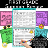 End of Year:  Summer School or Summer Packet Calendar Acti