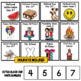 Summer Calendar Numbers ~ June, July and August
