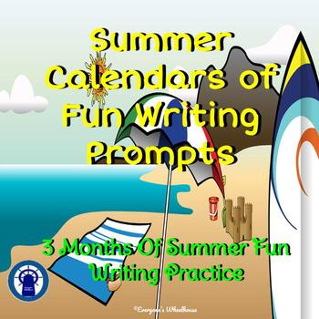 Summer Calendars of Fun Writing Prompts