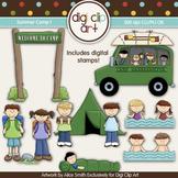 Summer Camp 1 - Digi Clip Art/Digital Stamps CU