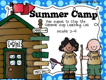 Summer Extension Camp Journals and Math Games