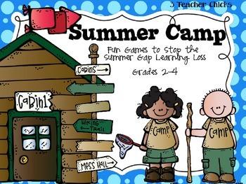 Summer Extension Camp Journals and Math Games