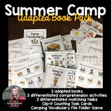 Summer Camp Adapted Book Pack
