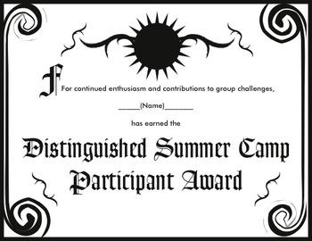 Summer Camp Adventure Activity