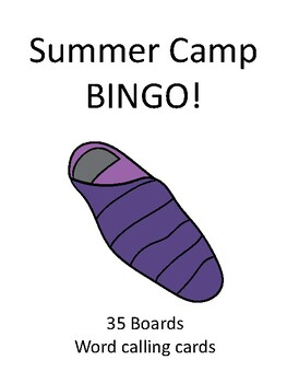 Summer Camp BINGO!