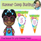 Summer Camp Bunting-Free!