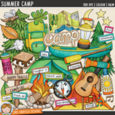"Camping Clip Art: ""Summer Camp"""