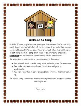 Summer Camp Community
