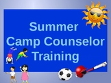 Summer Camp Counselor Training