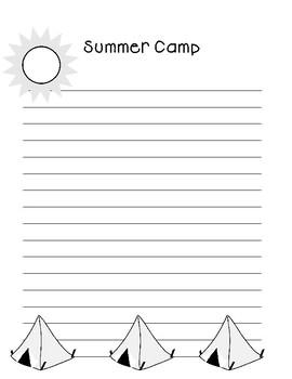 Summer Camp ~ Creative Writing