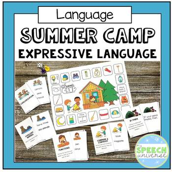 Summer Camp Expressive Language Game