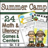 Summer Camp Fun Literacy and Math