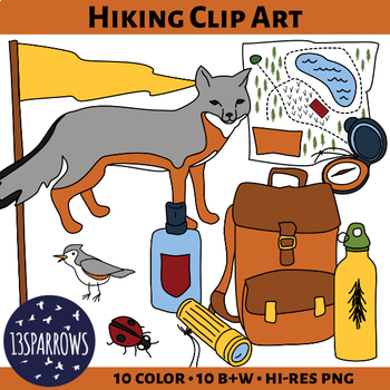 Hiking Clip Art
