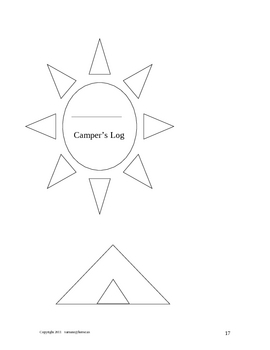 Summer Camp In The Classroom: Cross Curricular Lesson Plans