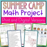 Summer Camp Math Project | Distance Learning