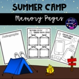 Summer Camp Memory Book