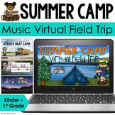 Summer Camp - Music Virtual Field Trip for Google Slides