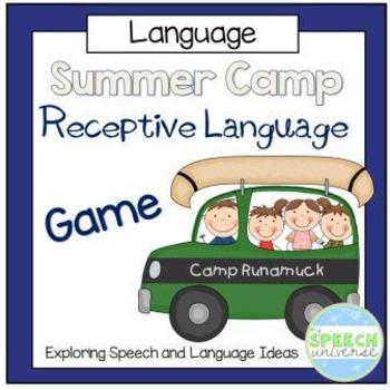 Summer Camp Receptive Language Game