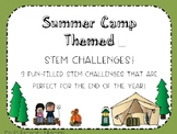Summer Camp STEM Challenges