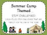 Summer Camp STEM Challenges