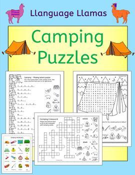 Summer Camping Puzzles