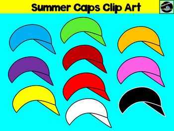 Summer Caps Clip Art