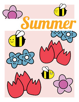 Summer Cards and Binder Covers