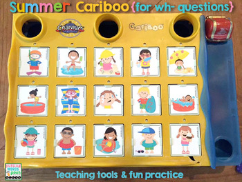 Summer Cariboo for WH- Questions