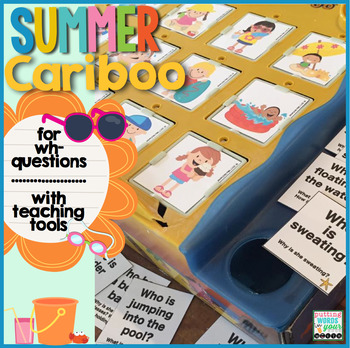 Cariboo Summer {for WH- questions & language therapy}