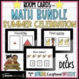 Summer Celebration Boom Cards™ Math Bundle