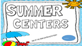 Summer Center Ideas!!