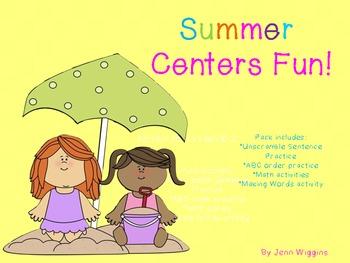 Summer Centers Fun Pack
