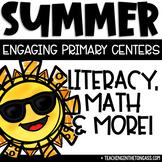 Summer Activities | Math & Literacy Centers | Summer Craft