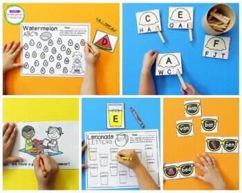 Summer Centers and Activities for Pre-K/Kindergarten