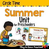 Summer Circle Time Unit